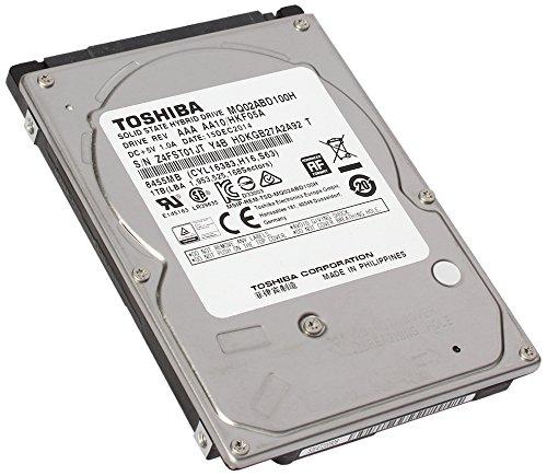 Toshiba 500 GB 2.5″ Internal Hybrid Hard Drive – 8 GB SSD Cache Capacity MQ02ABF050H