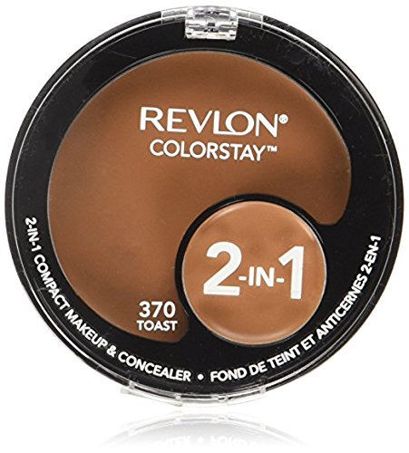 Revlon Colorstay 2 in 1 Toast Compact Makeup and Concealer -- 2 per case.