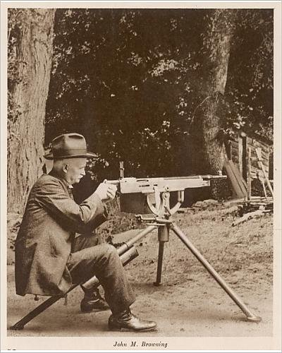Photographic Print Of John Moses Browning