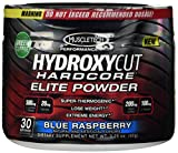 MuscleTech Hardcore Elite Powder Blue Raspberry 30 Servings