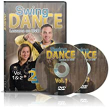 Swing Dance Lessons on DVD Vol 1 & 2 - Country Swing Dance Instructional DVDs