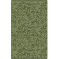 Brumlow Mills EW10309-30x46 Entwined Simple Floral Area Rug, 26 x 310, Green