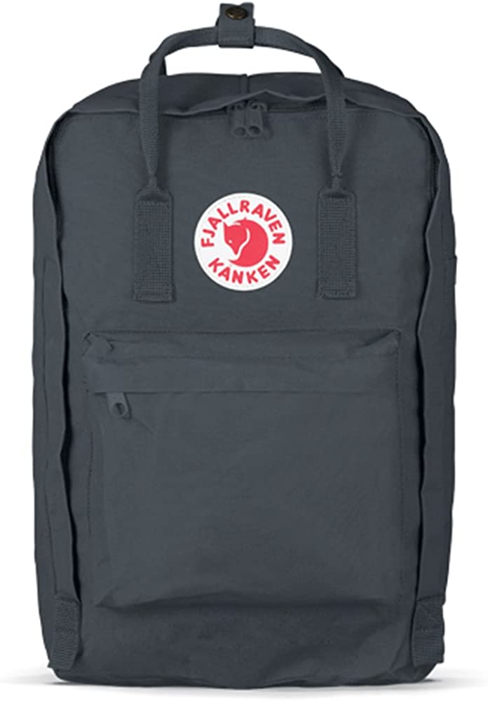 Fjallraven, Kanken Laptop 17 Backpack for Everyday, Black