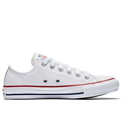 Chuck All Blanc45 Taylor Converse Leather EuAmazon Star 132173c IE2DH9W