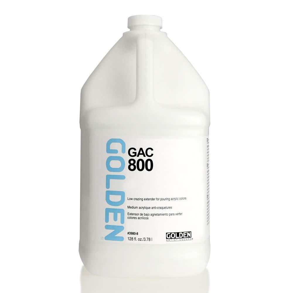Golden Acryl Med 128 Oz Gac-800 Acrylic by Golden