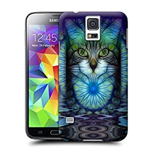 Unique Phone Case Cats and Tigers-04 Hard Cover for samsung galaxy s5 cases-buythecase