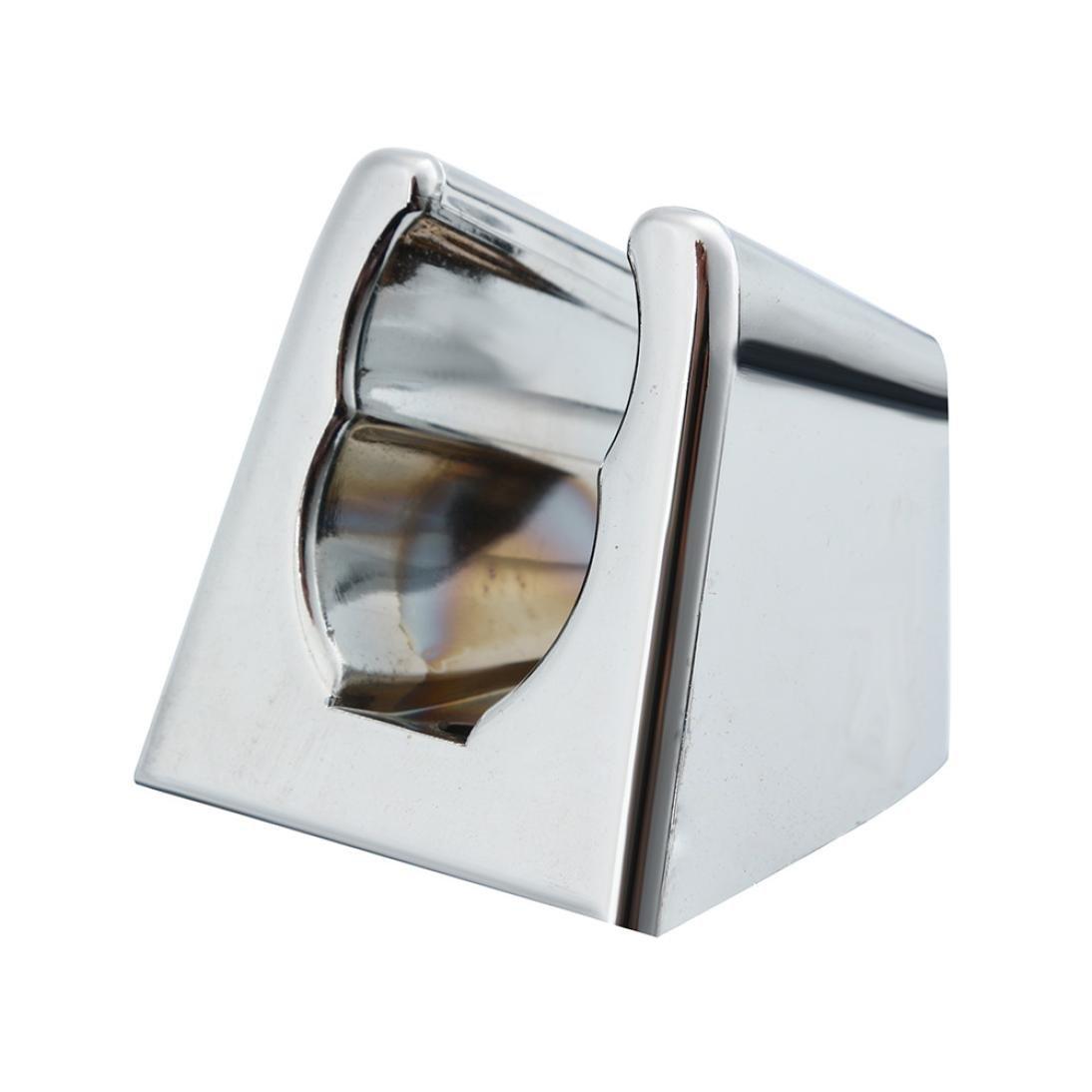 Nesix Universal Showering Components Shower-Head/Handheld-Shower Combo Douche Toilet Bidet Spray Wash Jet Shattaf Diverter (A, Sliver)