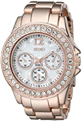XOXO Women's XO5650 Rose Gold-Tone Bracelet Analog Watch