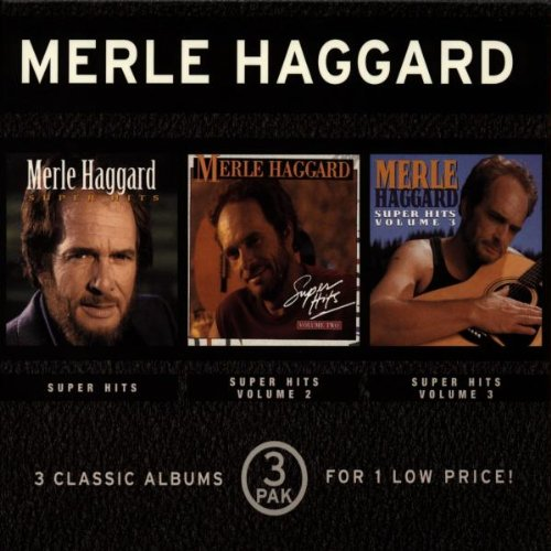 Merle Haggard Super Hits, Volumes 1-3 by Sony