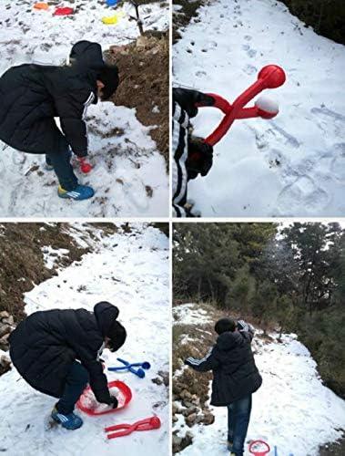 Kunststoff K/äfer geformte Schneeplatte Schlitten Rutsche Schnee Winter Outdoor Kinder Spa/ß 1 PCS Random Color Bump Skid Schlitten Cricia Winter Schneeschlitten
