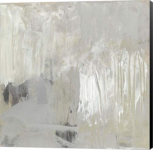 II by Jennifer Goldberger Canvas Art Wall Picture, Museum Wrapped with Black Sides, 18 x 18 inches ()