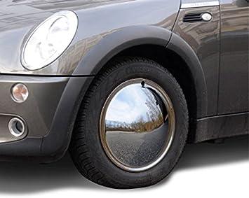 Universell Passende Radzierblende 1 Stück 15 Zoll Moon Caps Für Pkw Oldtimer Aus Verchromten Metall Auto