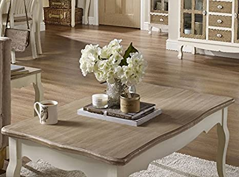 French coffee table large living room furniture shabby chic