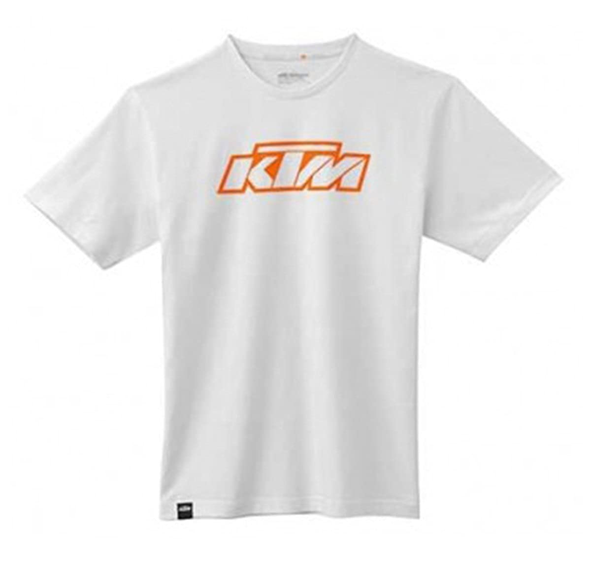 Camiseta oficial KTM naranja, color blanco azul small: Amazon.es ...