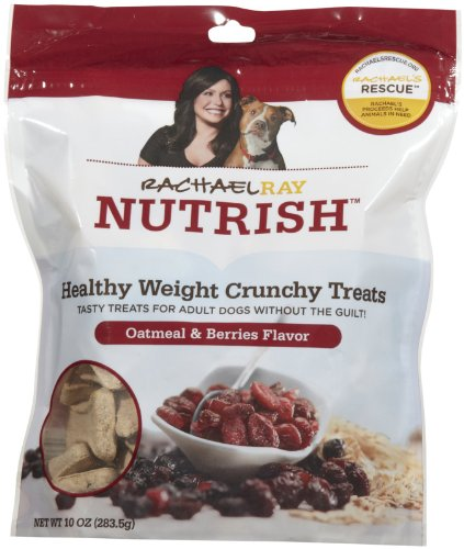 Rachael Ray Nutrish Healthy Weight Oatmeal & Berries Dog Treats, 10-oz bag