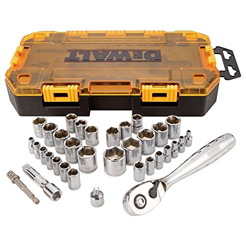 DEWALT DWMT73804 Drive Socket Set (34 Piece), 1/4'' and 3/8'' by DEWALT (Image #3)