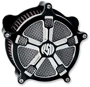 RSD Venturi Air Cleaner Turbo Contrast for Harley CV/DELPHI