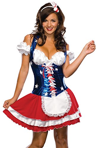 Secret Wishes  Firecracker Costume, Red, X-Small]()
