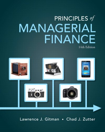 Prin.Of Managerial Finance Text