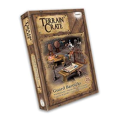 Mantic Games MGTC117 TerrainCrate: Guard Barracks, Multi: Toys & Games
