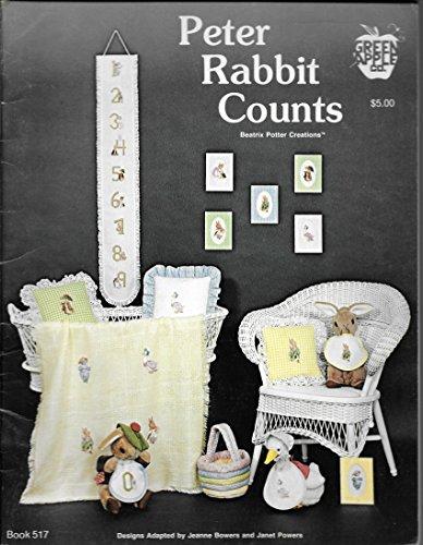 Pattern Peter Rabbit Cross Stitch (Peter Rabbit Counts: Beatrix Potter Creations (Cross Stitch, Needlepoint) (Green Apple, Book 517))