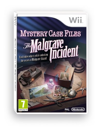 Mystery Case Files: The Malgrave Incident (Wii) by Nintendo