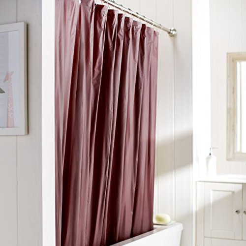 red and brown shower curtain. United Linens 10 Gauge HEAVY DUTY shower Curtain Liner burgundy 70x72  PEVA Mildew Free Resistant Mold Eco Friendly Vinyl No Chemical Odor liner Burgundy Shower Amazon com