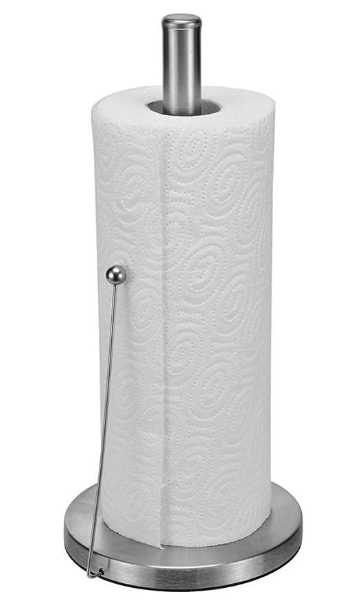 Acero inoxidable soporte para toalla de cocina restaurantes soporte de accesorio de, diseño de rollo