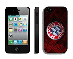 New Top Shell Case for Iphone 4s Bayern Munich 3 Best Soccer Designer Iphone 4 Cover Mobile Phone Accessories