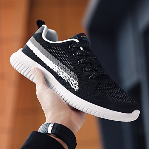 Walking Shoes WYSBAOSHU Grey Men's Outdoor Sneaker Women's Running Casual Sxt04v