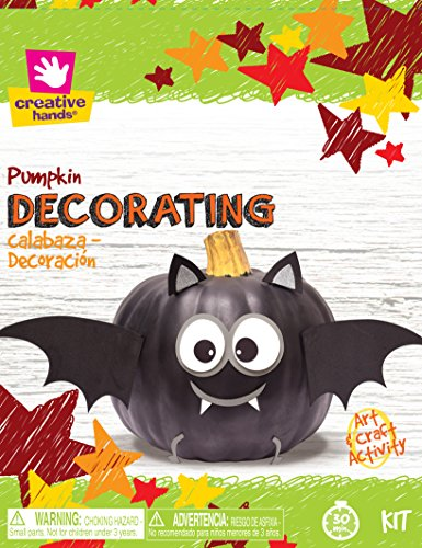 Creative Hands Pumpkin Deco Bat Decorations