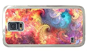 Hipster Samsung S5 Cases the best fractal abstract patterns PC Transparent for Samsung S5