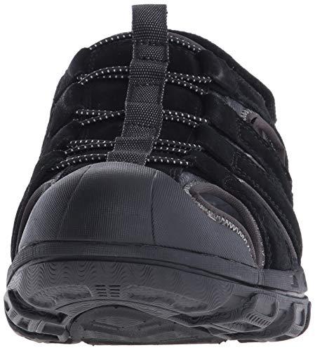 nbsp;liveoak Gander Negro Sintético Abiertas Sandalias De Material Skechers Hombre Uqd75awU