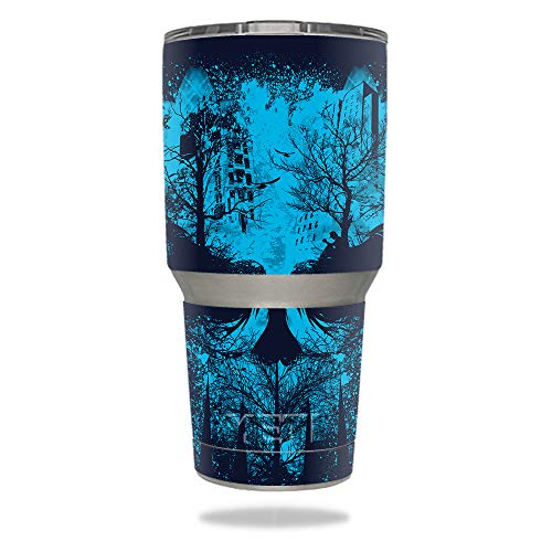 (MightySkins Skin Compatible with YETI 30 oz Tumbler - Lost Dreams | Protective, Durable, and Unique Vinyl Decal wrap Cover | Easy to Apply, Remove, and Change Styles | Made in The USA)