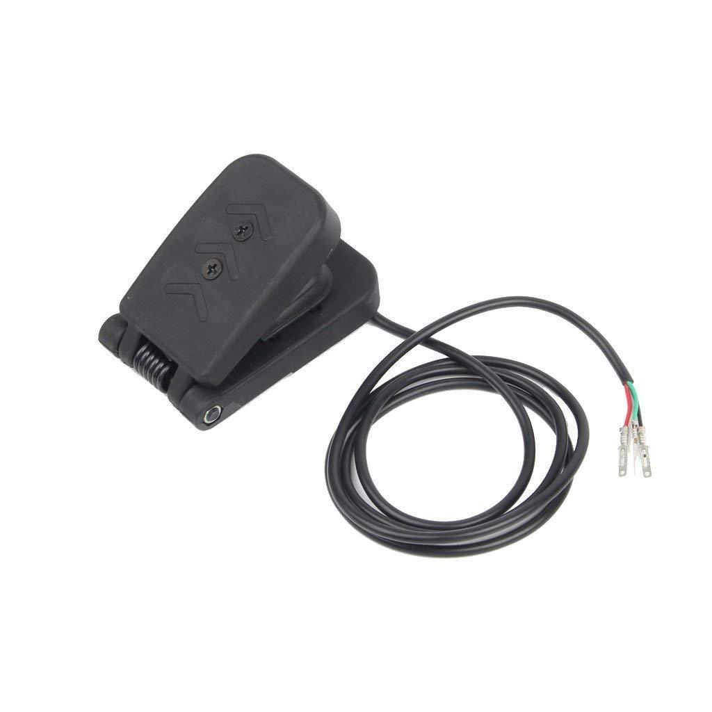 XuBa 5/V Pied P/édale de contr/ôle V/élo /électrique de Voiture dacc/él/érateur Acc/él/érateur E-Bike//Bateau//Scooter//v/élo