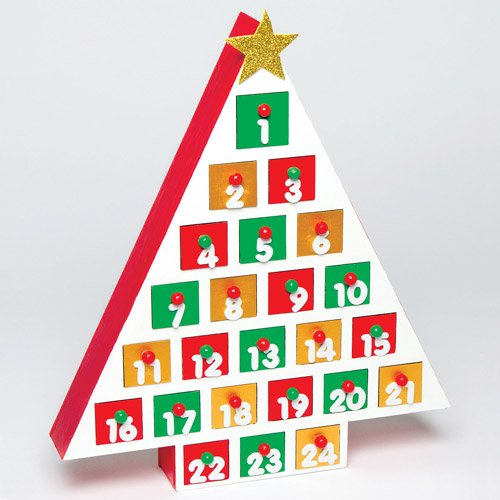Xmas Countdown Craft Activity for Kids