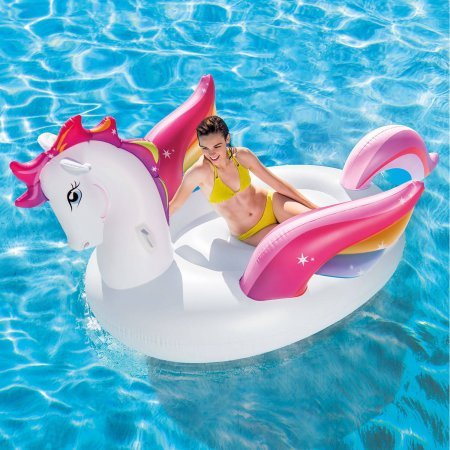Intex Inflatable Mega Pegasus Island Water/Pool Float