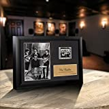 Beatles S1 Collectible Special Edition Wood Framed Movie Film Cell Plaque - 7.5x5.5'' '''