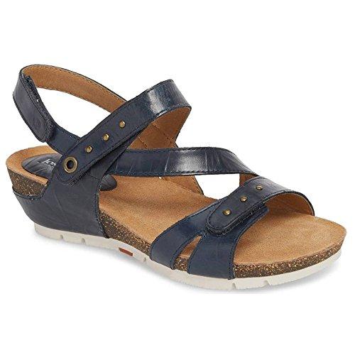 Josef Seibel Hailey 33 Women Leather Regular Sandals Jeans Bozen EU 41 - US ()