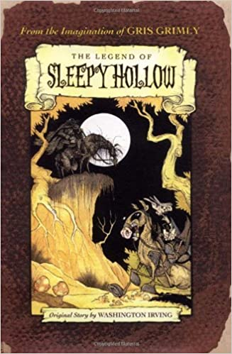 Image result for legend of sleepy hollow book