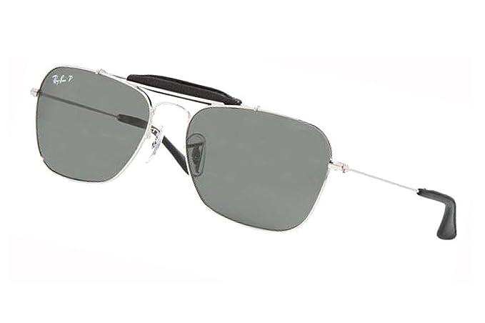 Rayban Gafas de sol 3415 Q 003 N5 polarizadas gafas gafas occhiali 58 mm Caravan Craft