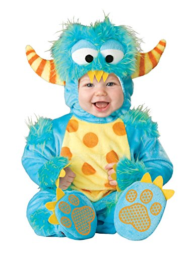 Lil Monster Costume 6-12 (UHC Baby's Lil' Monster Outfit Infant Toddler Fancy Dress Halloween Costume, 6-12M)