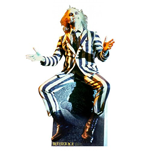 Coolest Halloween Decorations (Beetlejuice - Advanced Graphics Life Size Cardboard Standup)