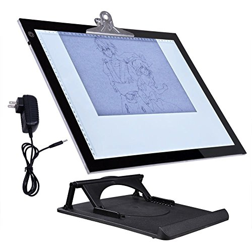 19'' LED Artist Stencil Board Tattoo Drawing Tracing Table Display Light Box Pad by lawkiaa