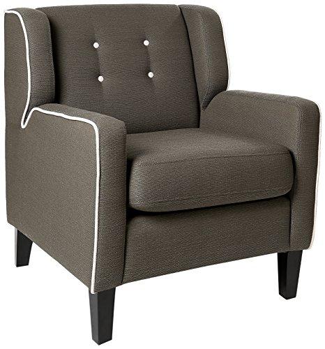 Homelegance Verona Fabric Accent Chair, Gray