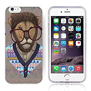 Animal Art Illustration Pattern HD Durable Hard Plastic Case Cover for iphone 6 4.7