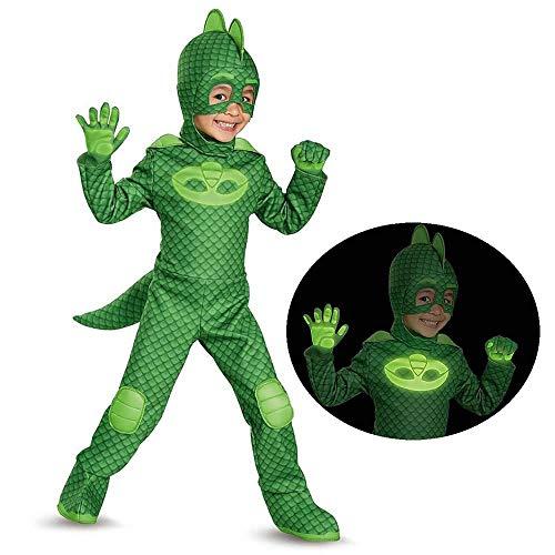 Gekko Deluxe Toddler PJ Masks Costume, Small/2T