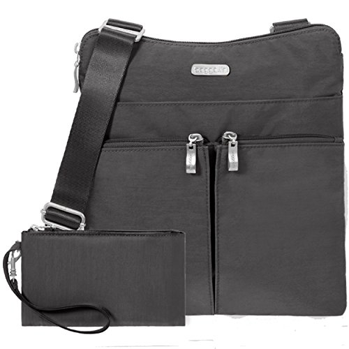 Horizon Bag Nylon Baggallini Classic Charcoal Crossbody EpgpqzT