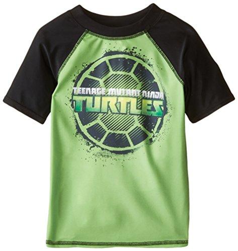 [Dreamwave Little Boys' Teenage Mutant Ninja Turtles Rashguard, Multi, 5/6] (Ninja Suits For Sale)