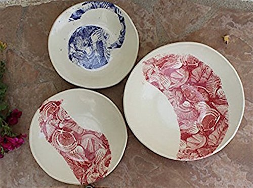 Bowl and Plate set handmade ceramic dinnerware